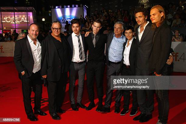 Actors Larry Day Alan C Peterson Atticus Mitchell Rohan Mead Screenwriter Richard Jutras Actors Joanne Vannicola Karl Glusman and Wilson Gonzalez...