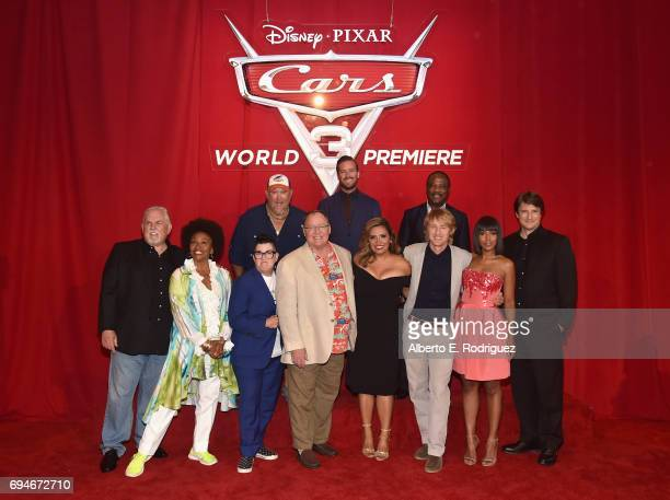 Actors Larry the Cable Guy Armie Hammer and Isiah Whitlock Jr Actors John Ratzenberger Jenifer Lewis Lea DeLaria executive producer John Lasseter...