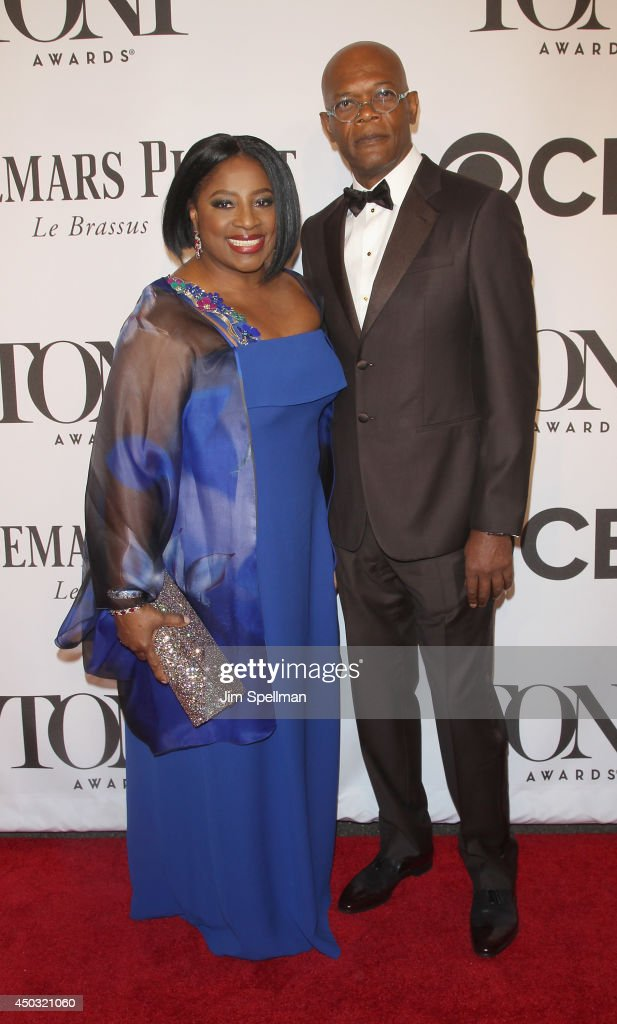 Actors LaTanya Richardson and Samuel L. Jackson attend American Theatre Wing's 68th Annual Tony Awards at Radio City Music Hall on June 8, 2014 in New York City.