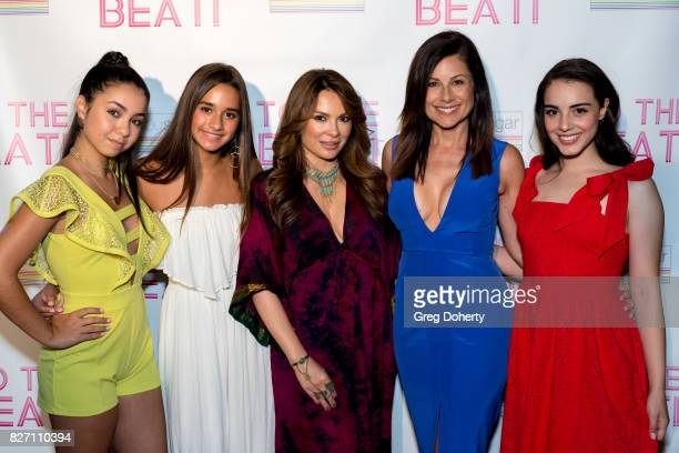 Actors Laura Krystine Brisa Lalich Lily Melgar Marie Wilson and Veronica St Clare arrive for the 'To The Beat' Special Screening at The Colony...
