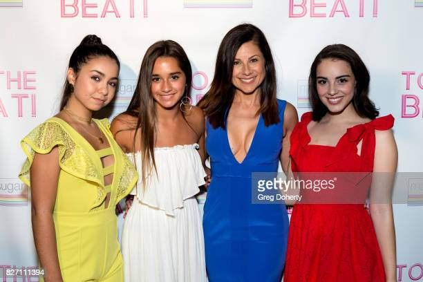 Actors Laura Krystine Brisa Lalich Marie Wilson and Veronica St Clare arrive for the 'To The Beat' Special Screening at The Colony Theatre on August...