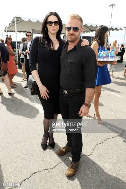 Actors Laura Prepon and Ben Foster attend the 32nd Annual Film Independent Spirit Awards sponsored by FIJI Water at Santa Monica Pier on February 25...