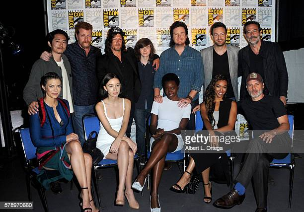 Actors Lauren Cohan Christian Serratos Danai Gurira Sonequa MartinGreen Andrew Lincoln and Steven Yeun Michael Cudlitz Norman Reedus Chandler Riggs...