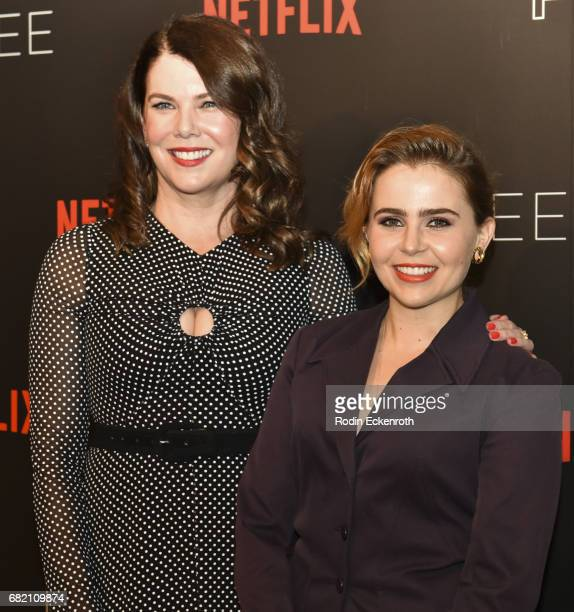Actors Lauren Graham and Mae Whitman attend 'Gilmore Girls A Year in the Life' For Your Consideration Event at Netflix FYSee Space on May 11 2017 in...
