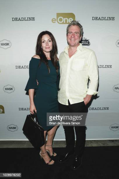 Actors Lauren Hammersley and Andrew Younghusband attend eOne Best of the Fest TIFF 2018 Celebration at Assembly Chef's Hall on September 7 2018 in...