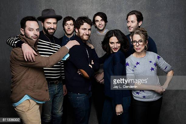Actors Lauren Weedman Nick Kroll Thomas Middleditch Alex Ross Perry Adam Pally writer/director Jeff Baena actors Jenny Slate and Brett Gelman from...
