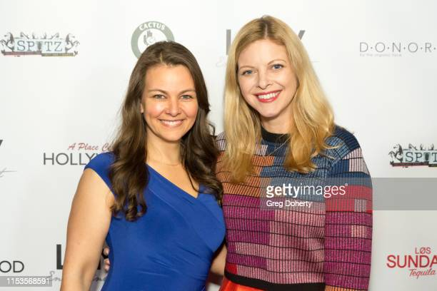 Actors Lauren White and Hilary Barraford attend an FYC Event for A Place Called Hollywood at TCL Chinese 6 Theatres on June 03 2019 in Hollywood...