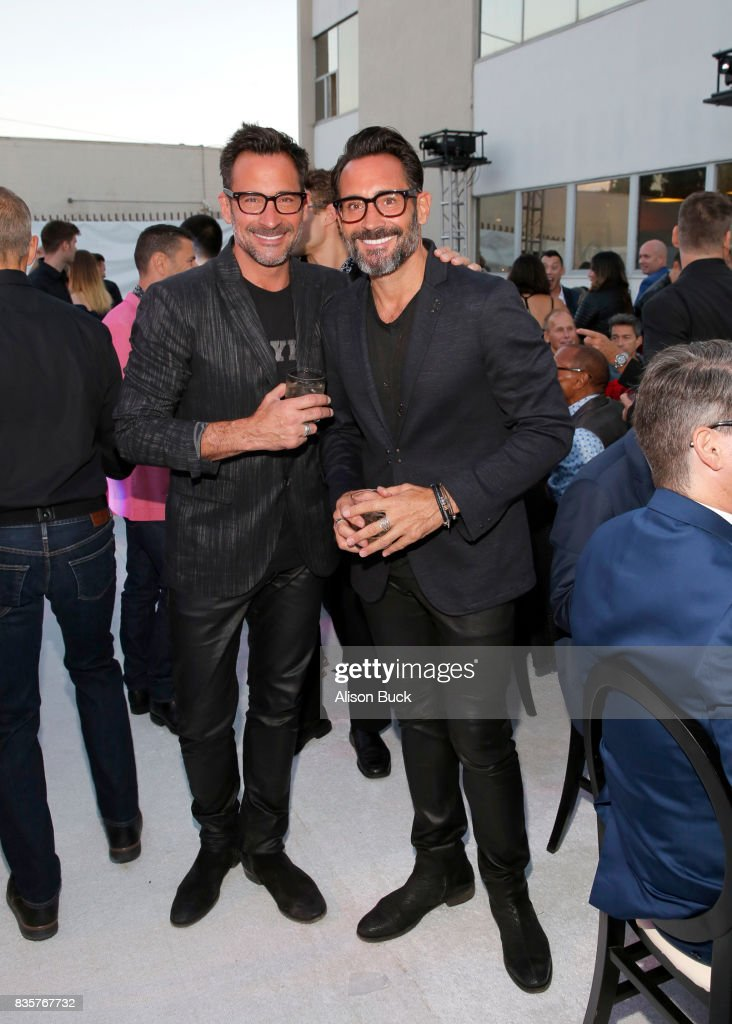 Actors Lawrence Zarian and Gregory Zarian attend Project Angel Food's 2017 Angel Awards on August 19, 2017 in Los Angeles, California.