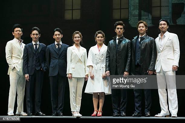 Actors Lee GunMyung Key of South Korean boy band SHINee Jo Kwon of South Korean boy band 2AM Lee JungHwa An SiHa Ken of South Korean boy band VIXX...