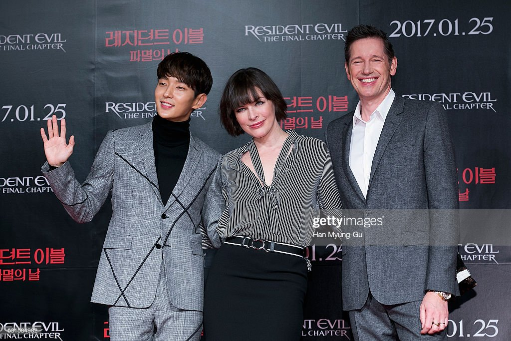 """Resident Evil: The Final Chapter"" Press Conference In Seoul"