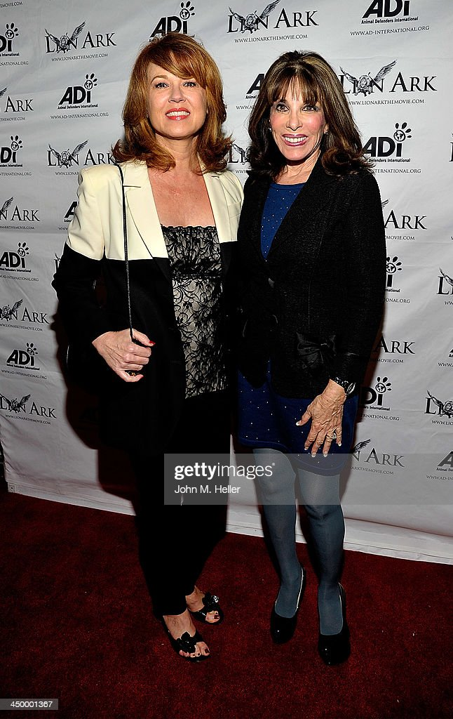 Actors Lee Purcell and Kate linder attend the premiere of 'Lion Ark' at the Charles Aidikoff Screening Room on November 15, 2013 in Beverly Hills, California.