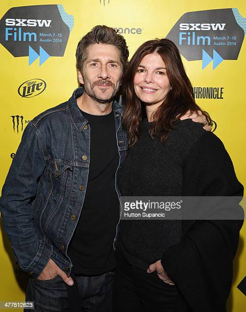 Actors Leland Orser and Jeanne Tripplehorn attend the 'Faults' Photo Op and QA during the 2014 SXSW Music Film Interactive Festival at Stateside...