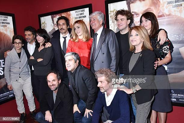 actors Leo Elbe director Pascal Elbe Zabou Breitman Vincent Elbaz Julie Gayet a guest Ludovik Day Nicole Calfan Anne Charrier1rst rank Lionel...