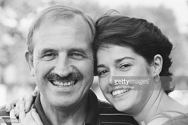 Actors Leonard Rossiter and Gemma Craven 21st August 1984 They are starring together in the play 'Loot' written by Joe Orton soon to be shown at the...