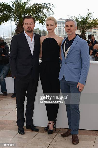 Actors Leonardo DiCaprio, Carey Mulligan and director Baz Luhrmann attend the photocall for 'The Great Gatsby' at the 66th Annual Cannes Film...