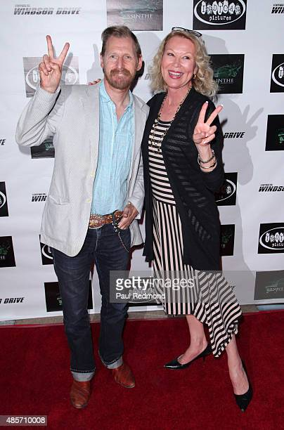 Actors Lew Temple and Leslie Easterbrook attend Indican Pictures and Absinthe Productions world premiere of Windsor Drive at Laemlle NoHo 7 on August...