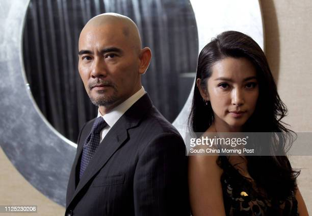 Actors Li Bingbing and Winston Chao for the film 1911 Harbour Grand Hotel Fortress Hill 25SEP2011
