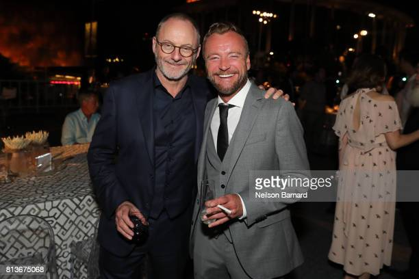 Actors Liam Cunningham and Richard Dormer attend the Premiere of HBO's 'Game Of Thrones' Season 7 after party at Walt Disney Concert Hall on July 12...