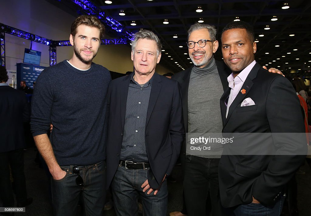 SiriusXM at Super Bowl 50 Radio Row - Day 2 : News Photo