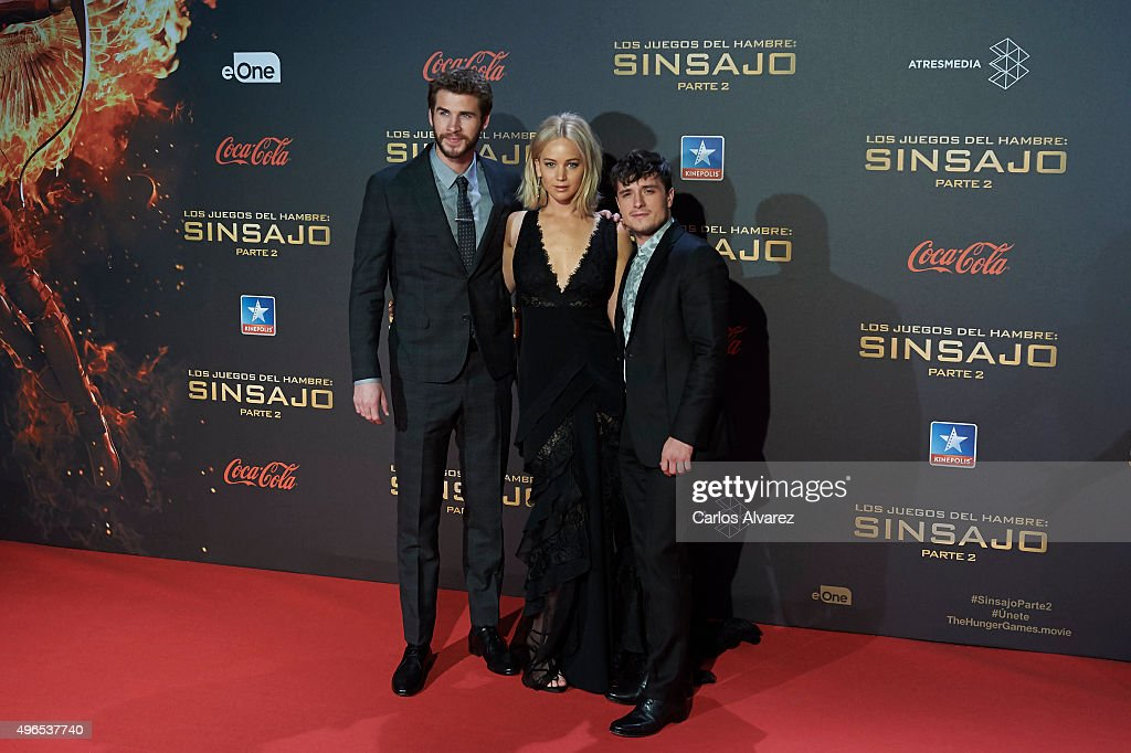'Los Juegos Del Hambre: Sinsajo - Part 2' Madrid Premiere : Nyhetsfoto