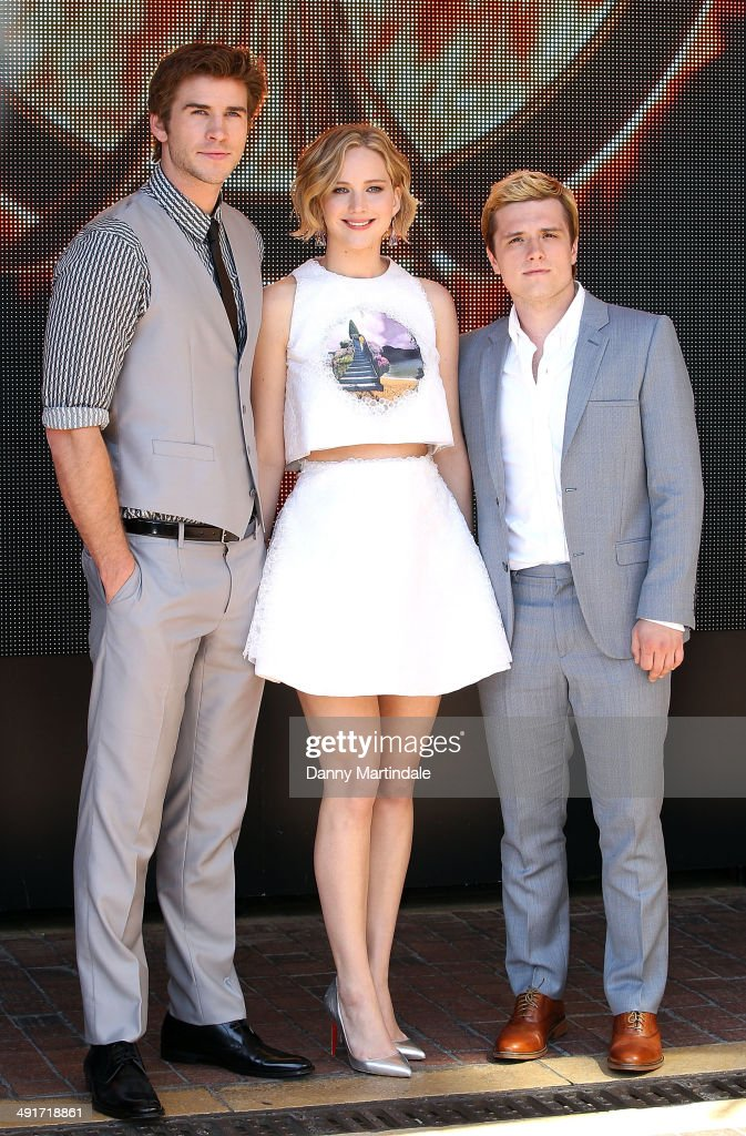 'The Hunger Games: Mockingjay Part 1' Photocall - The 67th Annual Cannes Film Festival : News Photo