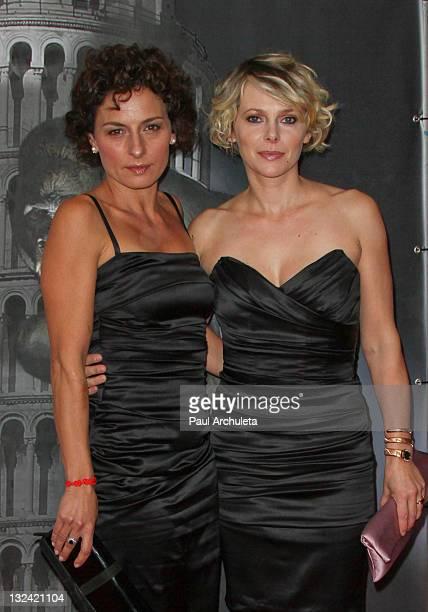 Actors Lidia Vitale and Barbora Bobulova attend the 2011 Cinema Italian Style opening night gala 'Terraferma' Premiere at American Cinematheque's...