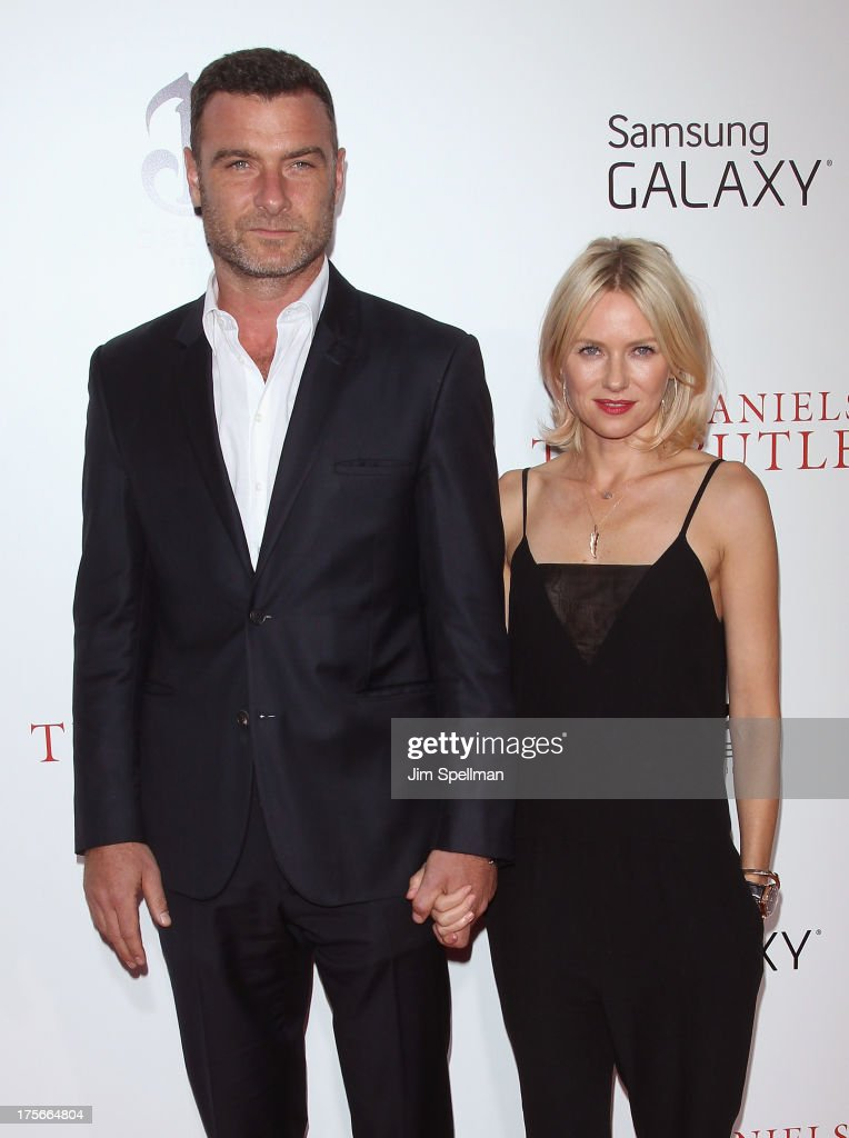 Actors Liev Schreiber and Naomi Watts attend Lee Daniels' 'The Butler' New York Premiere at Ziegfeld Theater on August 5, 2013 in New York City.