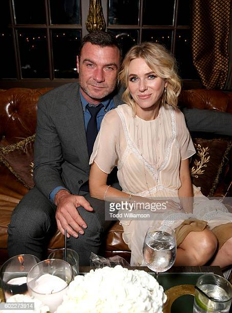 Actors Liev Schreiber and Naomi Watts attend the Hollywood Foreign Press Association and InStyle's annual celebration of the Toronto International...