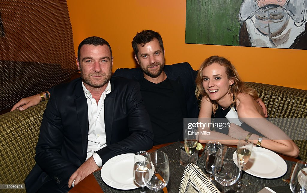 Actors Liev Schreiber, Joshua Jackson and Diane Kruger attend the SHOWTIME VIP Post-Fight Dinner for 'Mayweather VS Pacquiao' at MGM Grand Hotel & Casino on May 2, 2015 in Las Vegas, Nevada.