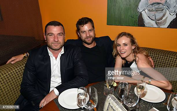 Actors Liev Schreiber Joshua Jackson and Diane Kruger attend the SHOWTIME VIP PostFight Dinner for 'Mayweather VS Pacquiao' at MGM Grand Hotel Casino...