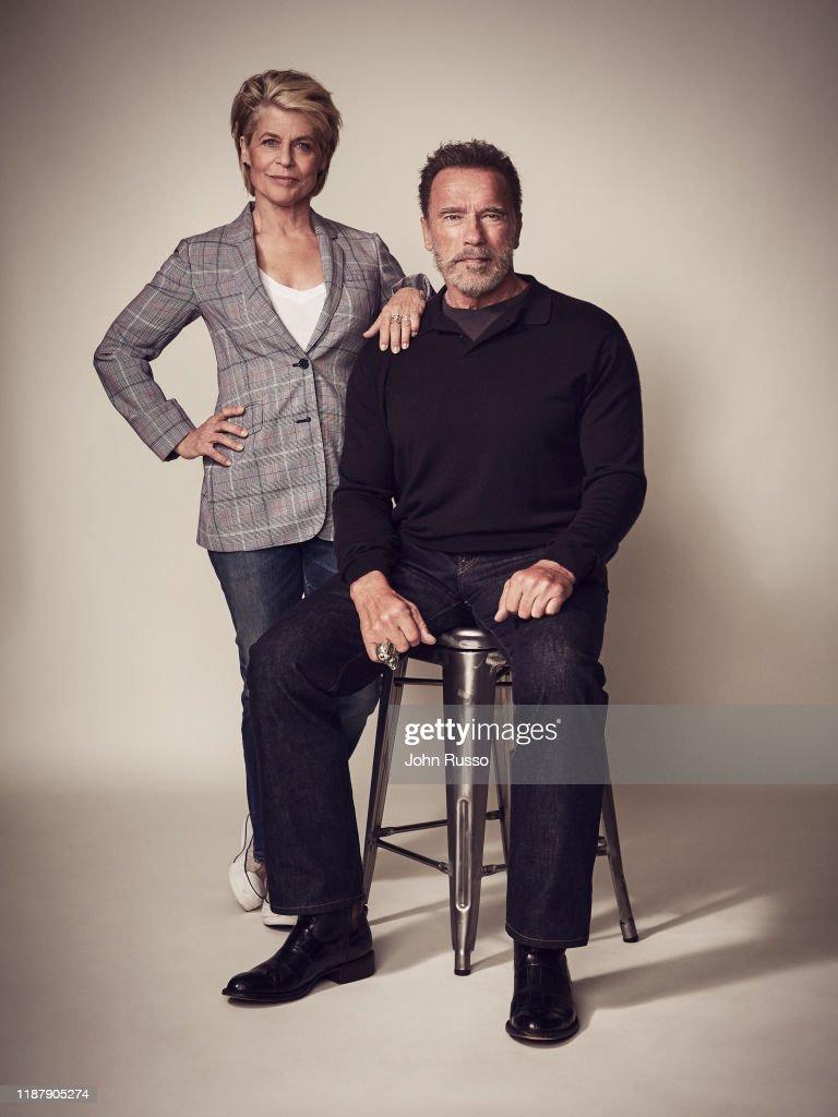 Cast of Terminator : Dark Fate, 20th Century Fox, August 1, 2019 : News Photo