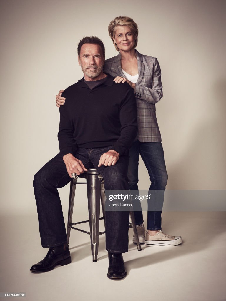 Cast of Terminator : Dark Fate, 20th Century Fox, August 1, 2019 : News Photo