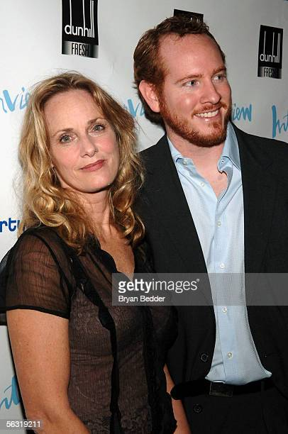 Actors Lisa Emery and DarrenGoldstein arrive at the opening night party for Abigail's Party at Sascha on December 1 2005 in New York City