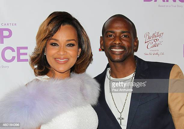Actors LisaRaye McCoyMisick and Keith Robinson attend the Los Angeles premiere of Lap Dance at ArcLight Cinemas on December 8 2014 in Hollywood...