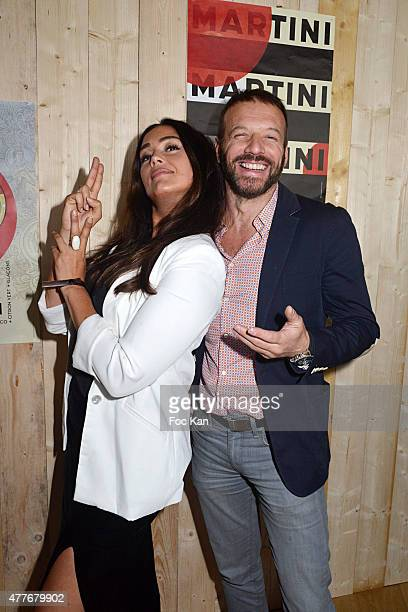 Actors Lola Dewaere and Samuel Le Bihan attend the 'Ma Terrazza' : Cocktail Party at the Electric Club on June 18, 2015 in Paris, France.