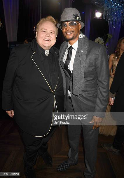 Actors Louie Anderson and Damon Wayans attend The 22nd Annual Critics' Choice Awards at Barker Hangar on December 11 2016 in Santa Monica California