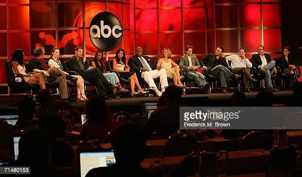 Actors Lourdes Benedicto, John Billingsley, Jessica Collins, Tim Daly, Dana Davis, Camille Guaty, Chi McBride, Kim Raver, Scott Wolf, Owain Yeoman,...