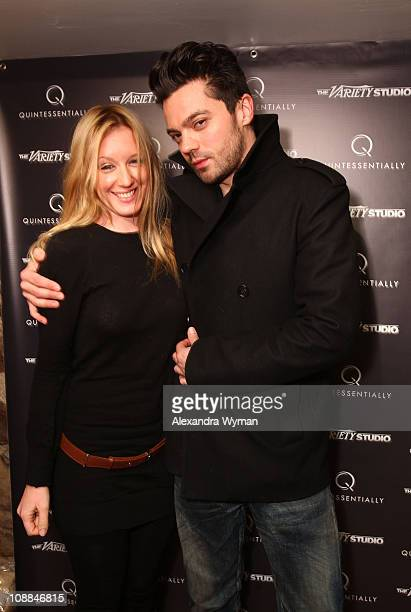 Actors Ludivine Sagnier and Dominic Cooper attend The Variety Studio At Sundance on January 24 2011 in Park City Utah