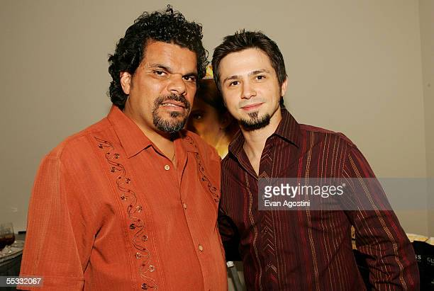 Actors Luis Guzman and Freddy Rodriguez attend the DreamWorks premiere of Dreamer Inspired By A True Story at Roy Thompson Hall during the 2005...