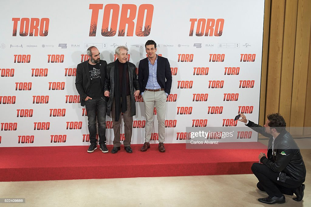 'Toro' Madrid Photocall