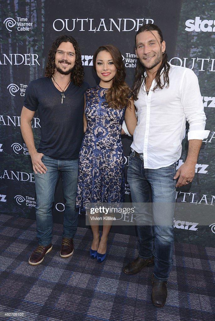 Starz Series 'Outlander' Premiere - Comic-Con International 2014 : News Photo