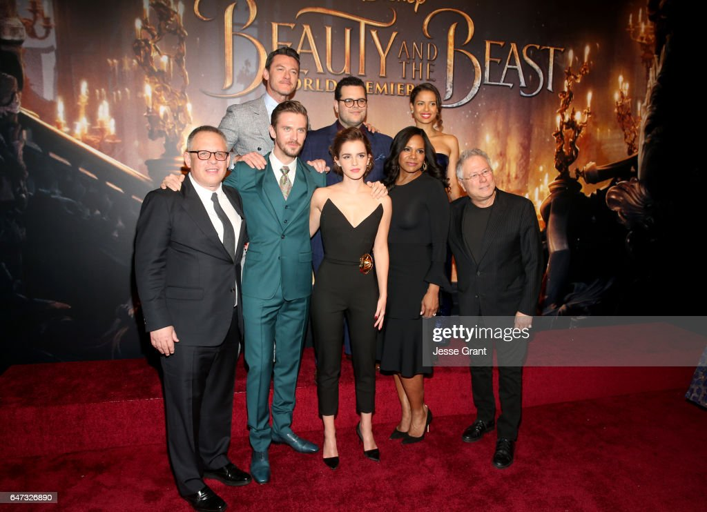 """The World Premiere Of Disney's Live-Action """"Beauty And The Beast"""" : News Photo"""