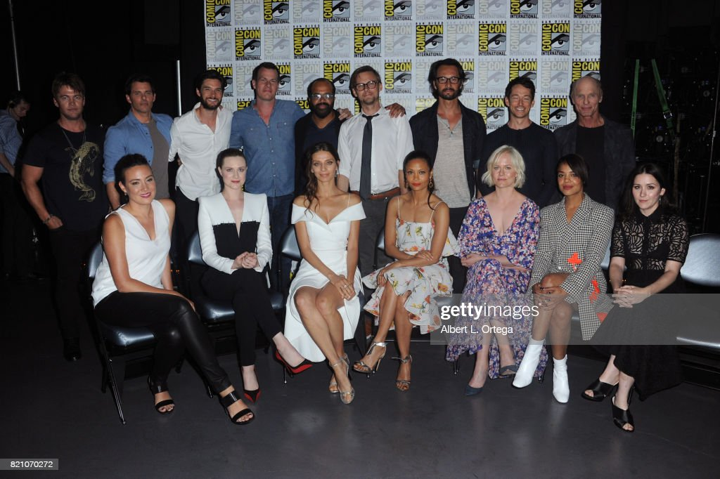 """Comic-Con International 2017 - """"Westworld"""" Panel And Q+A Session : News Photo"""