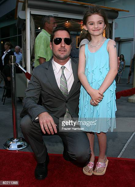 Actors Luke Wilson and Morgan Lily arrive at the premiere of Overture Films' Henry Poole Is Here held at ArcLight Cinemas August 7 2008 in Los...