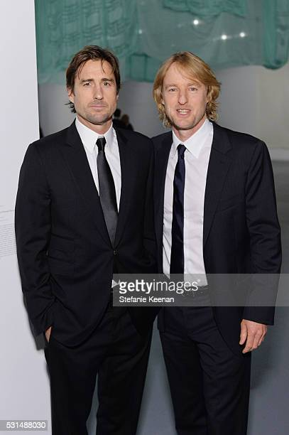 Actors Luke Wilson and Owen Wilson attend the MOCA Gala 2016 at The Geffen Contemporary at MOCA on May 14 2016 in Los Angeles California