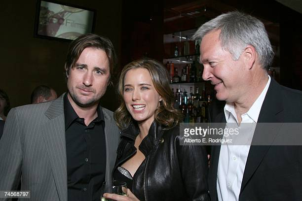 Actors Luke Wilson and Tea Leoni and IFC President of Entertainment Jonathan Sehring attend the after party for the IFC premiere of You Kill Me June...