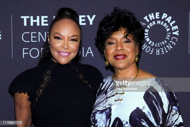 Actors Lynn Whitfield and Phylicia Rashad attend the Paley Center for Media's Evening With Phylicia Rashad And Lynn Whitfield at The Paley Center for...