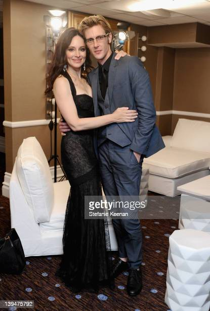 Actors Madeleine Stowe and Gabriel Mann attend the 14th Annual Costume Designers Guild Awards With Presenting Sponsor Lacoste held at The Beverly...