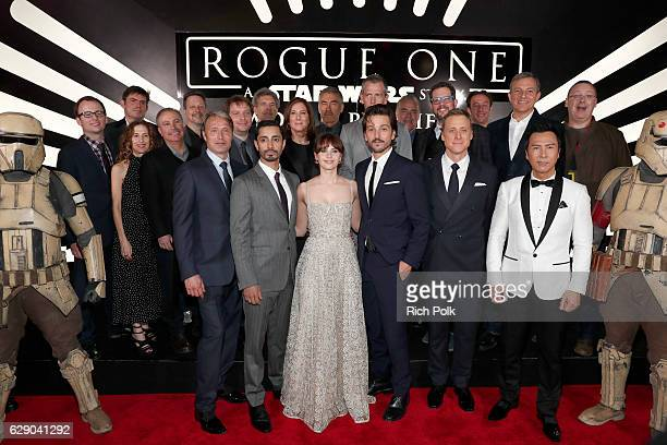 Actors Mads Mikkelsen Riz Ahmed Felicity Jones Diego Luna Alan Tudyk and Donnie Yen Producer Allison Shearmur Screenwriter Chris Weitz Walt Disney...