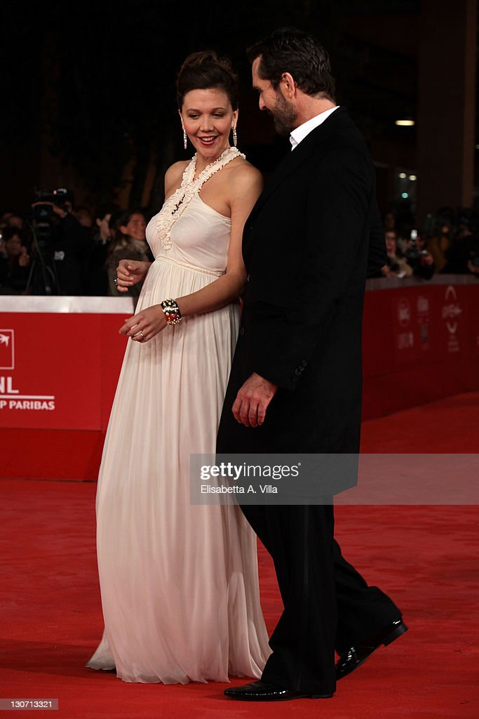 Actors Maggie Gyllenhaal and Rupert Everett attend the 'Hysteria' Premiere during the 6th International Rome Film Festival at Auditorium Parco Della Musica on October 28, 2011 in Rome, Italy.